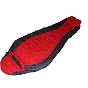 Versatile Ozark Trail Sleeping Bag 0f Climatech Mummy Sleeping Bag with Collar, Wind Baffle, Pocket and Zip Webbing Left Personalizable