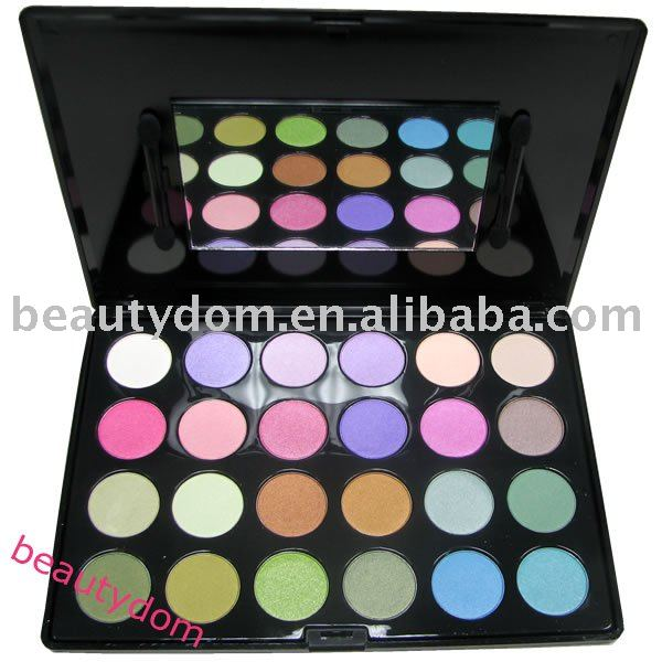 Top! 24 Multi colors High Quality Eyeshadow Palette, 24 Glitter pallet eye shadow