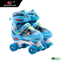 professional outdoor Quad Four Pu Wheels roller Skate