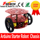 2wd smart robot car chassis kit arduinos Robot Aluminum chassis robotics 2wd