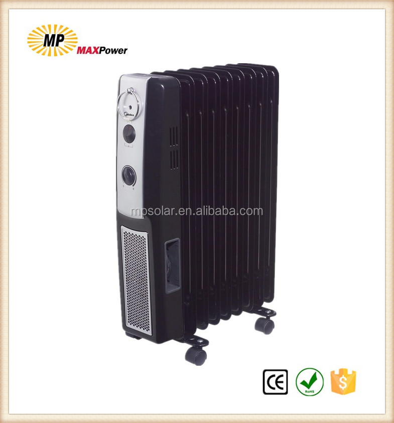 High Quality LED display indoor oil heater/radiator for home heating