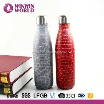 heat transfer paint logo double wall 350ml thermos bottle buy