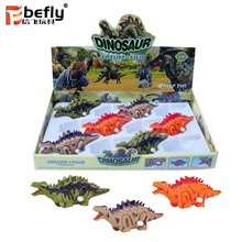 Lifelike dinosaur plastic wind up toy for kids