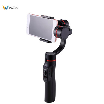 Factory price one hand gimbal for smartphone accept OEM with good service
