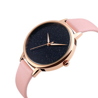 Skmei factory buy watches in china bulk wholesaleladies leather wrist watches no logo genuine leather de longe quartz watch