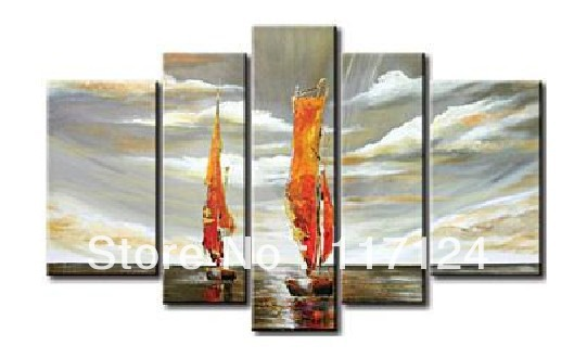 Free Shipping !! High Quality Guaranteed Wall Art Home Decoration 100% Hand painted canvas Oil painting #724