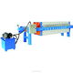 China hydraulic chamber filter press filtering machine for clay