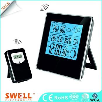 Rcc Analog Plastic Weather Station Clock,Hourly Us Weather Forecast - Buy  Digital Backlight Alarm Clock,Very Small Digital Clock,Digital Clock  Desktop