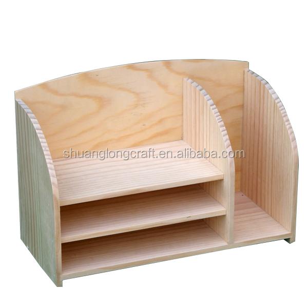 2015 personalizada de madera organizador de archivos de - Archivadores de madera ...