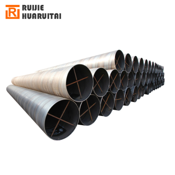 Carbon steel spiral steel pipe, saw welded pipe large diameter 1200mm spiral steel pipe price