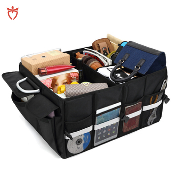 Premium Collapsible car organizers for trunk
