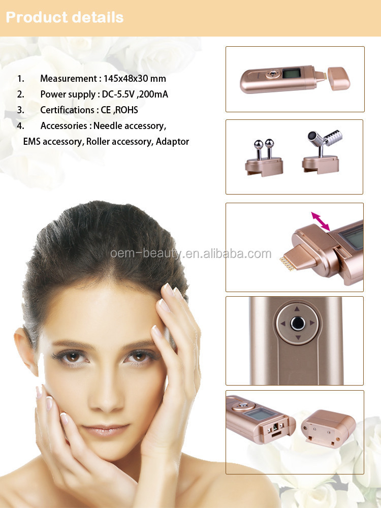 Electrical facial muscle stimulation advise