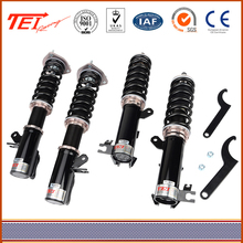 TEI 32 Ways Adjustable Height And Damping Oil auto hydraulic coilover absorber shock