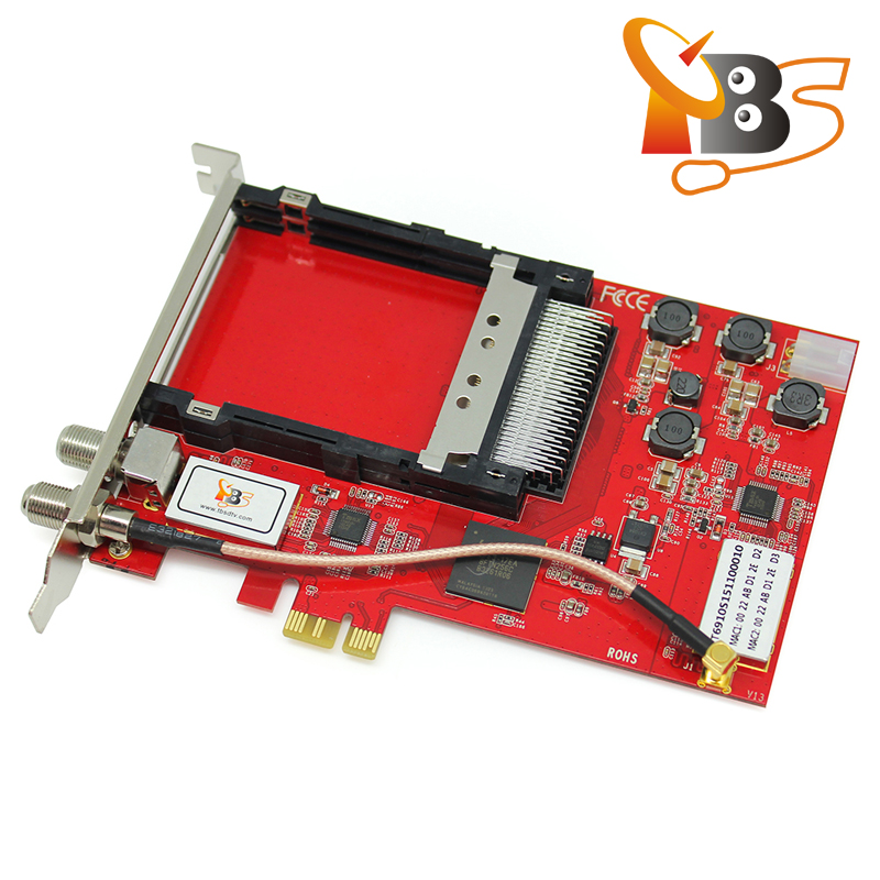TBS6910 DVB-S2 Dual <strong>TV</strong> <strong>Tuner</strong> Dual CI PCIe Card Supporting Full <strong>HD</strong> <strong>Satellite</strong> <strong>TV</strong> on PC