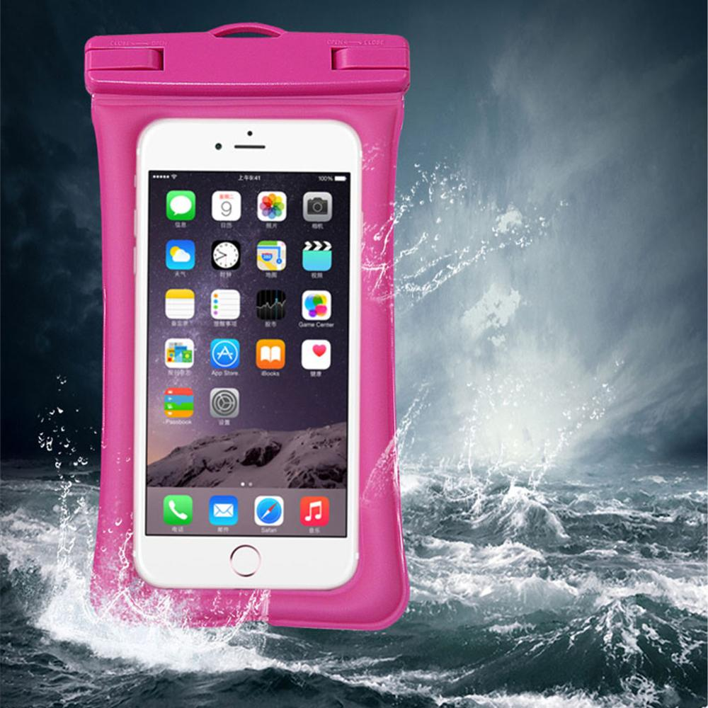 USA Amazon most popular, Eco-friendly high quality Soft PVC case swimming mobile phone waterproof bag