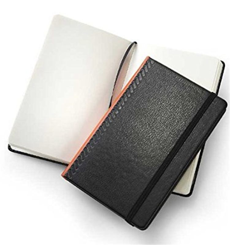 Perfect Diary Small Luxury Personalized Binder Plain Leather Hardcover Notebook