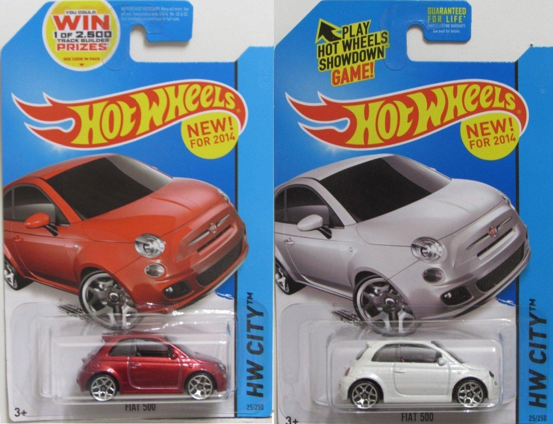 Hot Wheels 2018 Fiat 500 !! Neu !!!