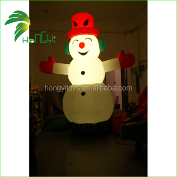 Christmas Inflatables.Hongyi Outdoor Led Lighted Christmas Inflatables Snowman Giant Inflatable Santa Claus Holidays Inflatables Buy Outdoor Inflatable Christmas Santa