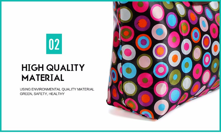 Best price fashion new design folding oxford fabric bag tote bag