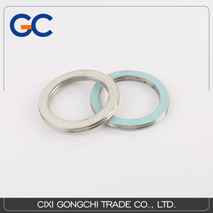 High quality stainless steel spiral wound gasket spiral wound graphite gasket