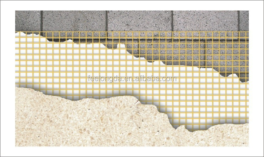 Fire Resistant Reinforcement : Fire resistant and good positioning synthetic stucco eifs