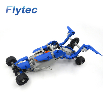 2018 Wholesale Flytec 2017A-26 RC Car DIY Building Blocks RC Educational Cars Toys For Kids