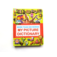 OEM children english dictionary book hardcover dictionary book printing service for picture dictionary