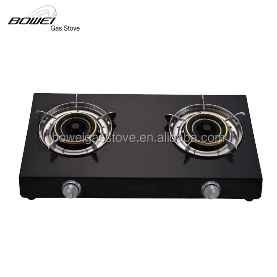 durable non-stick sheet iron two burner gas cookers BW-2044