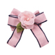 Women Silk Flower Clip Rose Lace cloth bow Brooches for dress wholesale wedding lapel pin flower brooch pins