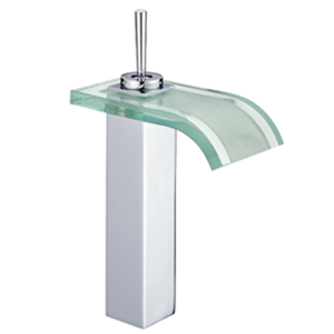 FUAO single handle brass chromed wash type of water tap