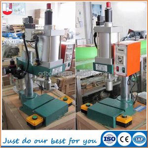 Factory price mini pneumatic hole punching machine