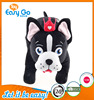 OEKO GMP plush standing haba dog with crown for baby