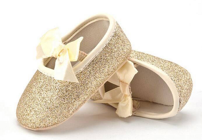 Baby Girl Princess Sparkly Shoes Infant Cute Soft Sole Footwear Toddlers Shoes