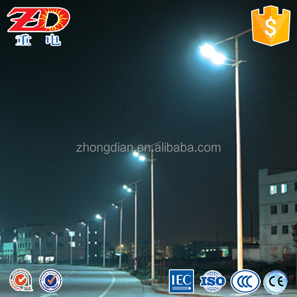 factory outlet price 5m-12m Professional solar power led street light