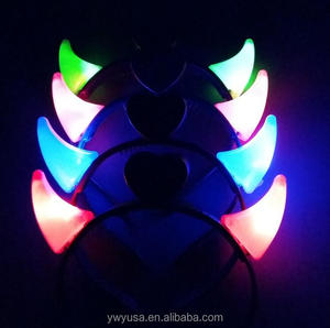 Wholesale price hot selling led horn for kids 2016 from china factory