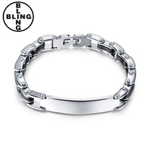 >>>BR037 New Arrival Black Silicone Mix Stainless Steel Men Personality Of Bracelet High Polished Mens bracelets.