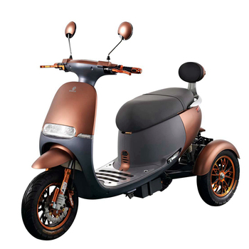 New Snail Shape Vespa 50cc Electric Scooter 3 Wheel Motorcycles