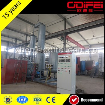 Multifunctional tyre recycling plant fuel oil refinery equipment with low price