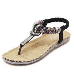 5394ccb28510e NL7006 2017 flat bottom amazon lady women shoes, lady sandal new flip flop