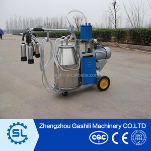Widely used portable dairy goats milking machine