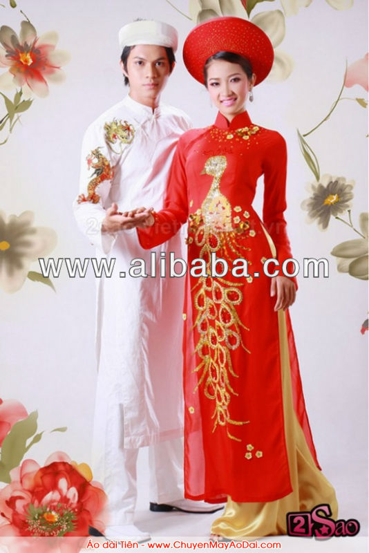 Vietnamese Tradition Dress- Ao Dai Vietnam