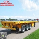 2 axle 3 axle 40ft or 20ft new trailer container flatbed truck trailer and semi trailer container for sale