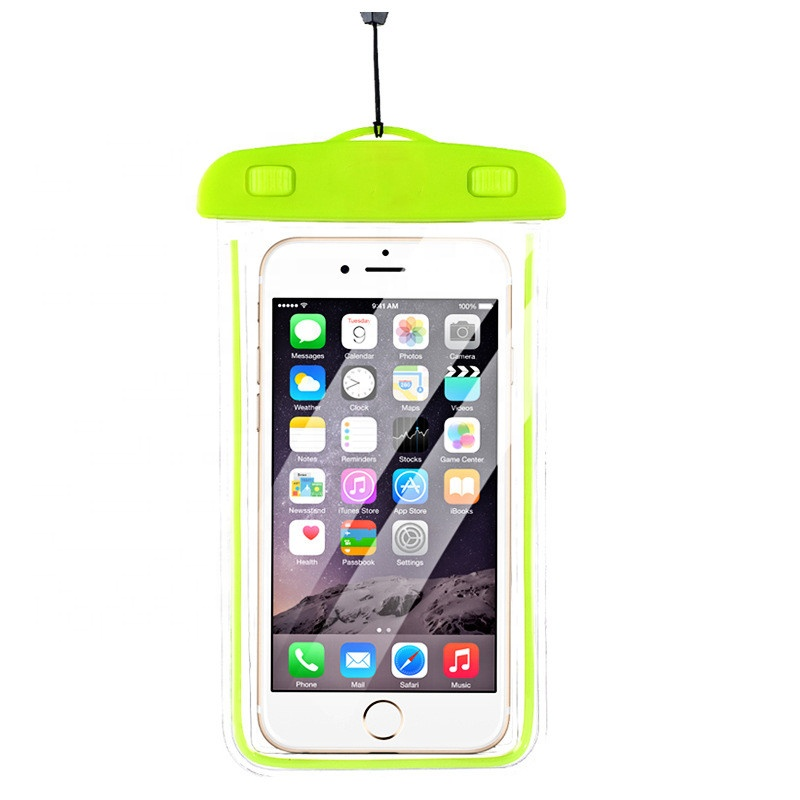 Universal Luminous Waterproof Case <strong>Cell</strong> <strong>Phone</strong> Dry Bag Pouch Waterproof <strong>Cell</strong> <strong>Phone</strong> <strong>Pocket</strong> with Neck Strap for iPhone Xs Max