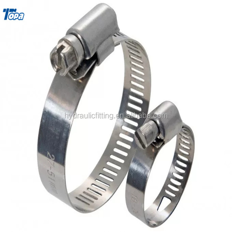 High pressure truss stainless steel tension battery forklift paper roll hydraulic hose pipe telescopic clamp strip