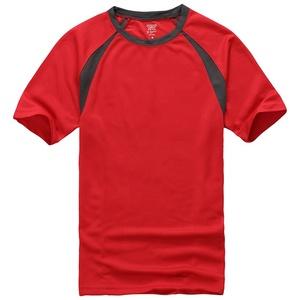 Wholesale men's basic short sleeve T shirts sport t-shirt with custom logo