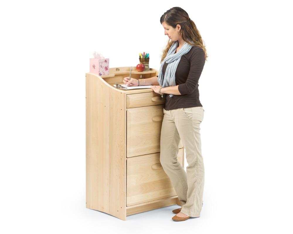 Envío utilizado madera guardería kid muebles antiguos para la venta ...