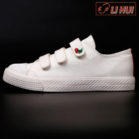 white canvas cheap denim latest sports paintable women canvas shoes 2017