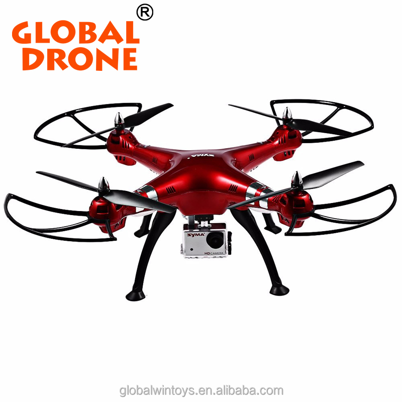SYMA X8HG rc drone with 8mp hd camera height fix aviation helicopter 2.4G 4CH fpv quadcopter