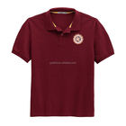 Sport polo t shirt with printing logo jersey for sport man