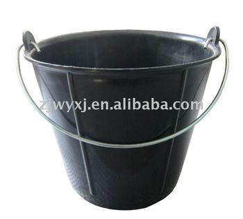 flexible water bucket recycled plastic construction pail buckets